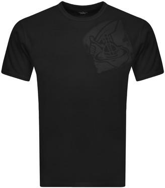 Vivienne Westwood Small Orb T Shirt Black