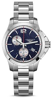 Longines Limited Edition Conquest Chronograph by Mikaela Shiffrin, 36mm