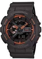 Casio Men's G-Shock Analogue/Digital Quartz Watch with Resin Strap GA-110TS-1A4ER