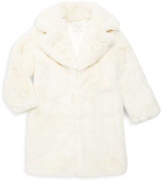 Habitual Girl's Devyn Faux Fur Coat