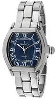 Peugeot Women's Silvertone Blue Dial Bracelet Watch