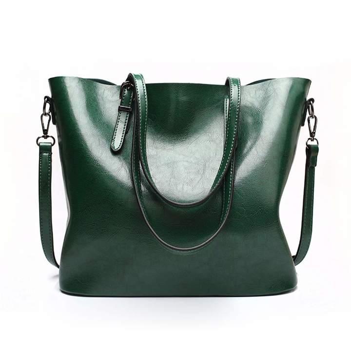 44c05e5d35eb Luxnewlife PU Leather Handbags for Women Tote Bag Top Handle Satchel  Handbag Shoulder Purse ...