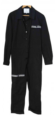 Carolina Ritzler Navy Cotton Jumpsuits