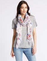Marks and Spencer Nautical Tattoo Print Scarf