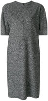 Jil Sander roll neck boxy dress - women - Polyester/Virgin Wool - 36