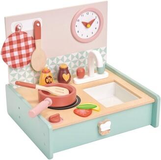 Tender Leaf Toys Mini Chef Kitchenette Play Set