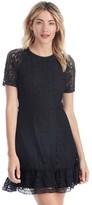 Sole Society Fremont Short Sleeve Lace Dress
