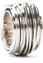 Row set metal ring