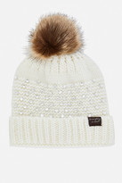 Fashion to Figure Bliss Jeweled Faux Fur Pompom Hat