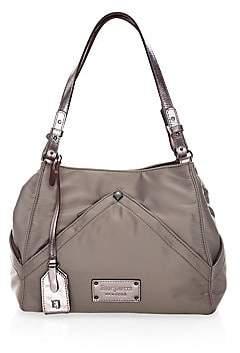 Eric Javits Women's Peyton Microfiber & Leather Shoulder Bag