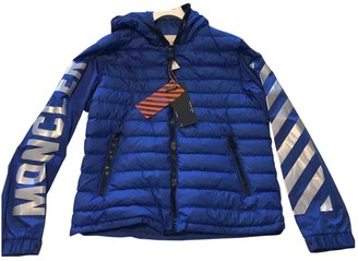 Moncler X Off White Moncler X Off-white Blue Polyester Jackets