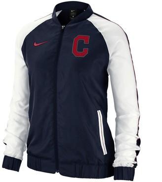 Nike Women's Navy Cleveland Indians Varsity Full-Zip Jacket