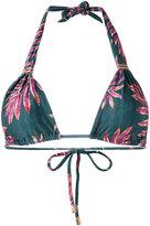 Vix Paula Hermanny floral triangle bikini top - women - Polyamide/Spandex/Elastane - M
