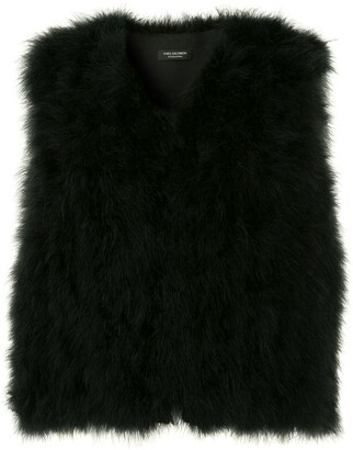Yves Salomon Fur Gilet