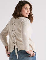Lucky Brand Back Lace Pullover