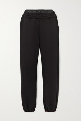 Koral Firme Valo Terry Track Pants - Black