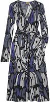 Magic print dress