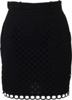 Carven Ajoure Mini Skirt