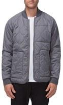 Tavik Men's Fullton Zip-In Compatible Quilted Bomber Jacket