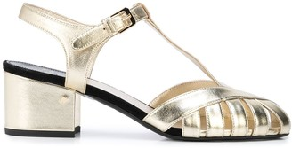 Laurence Dacade metallic T-bar sandals
