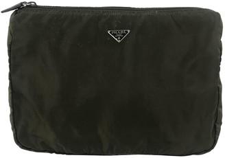 Prada Green Synthetic Clutch bags