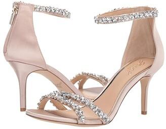 Badgley Mischka Darlene (Champagne) Women's Shoes