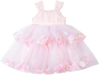 Pippa & Julie Tiered Petal & Tulle Party Dress