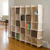 Sprout Modern 25 Cube Wave Storage Bookcase