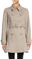 Kate Spade New York Spot Collar Oversized Button Trench Coat