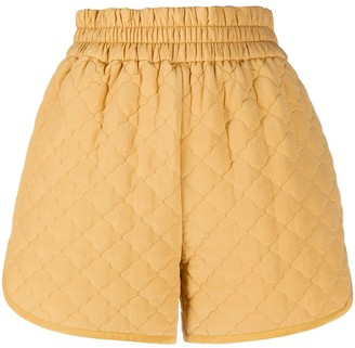 Fendi Diamond Quilted Shorts