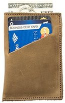 Soft Leather Wallet & Card Sleeve Handmade by Hide & Drink :: Cafe Con Leche