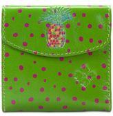 Patricia Nash Polka-Dot Pineapple Reiti Bi-Fold Wallet