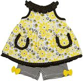 Baby Gear Baby Girl Swing Tank Top & Shorts Set