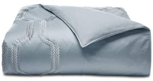 Hotel Collection Marquesa Geo Embroidered Full/Queen Duvet Cover, Created for Macy's Bedding