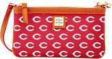 Dooney & Bourke Cincinnati Reds Large Wristlet