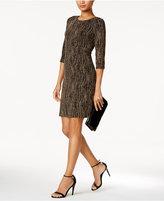 Jessica Howard Glitter Shift Dress