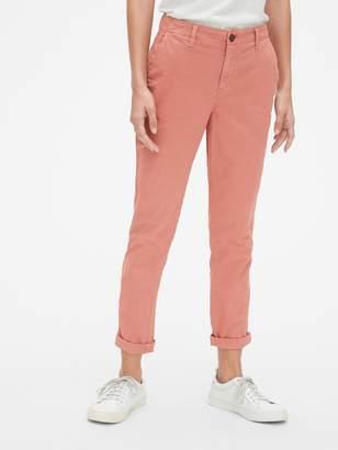 Gap Girlfriend Twill Stripe Chino Pants