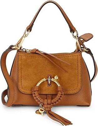 See by Chloe Mini Joan Suede & Leather Hobo Bag