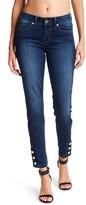 Seven7 Button Cuff Legging Jeans