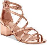 Material Girl Inez Block-Heel Sandals, Created for Macy's Women's Shoes