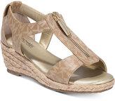 Michael Kors Cate Lali Wedge Sandals, Little Girls (11-3) & Big Girls (3.5-7)