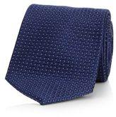 J By Jasper Conran Navy Jacquard Pattern Pure Silk Tie
