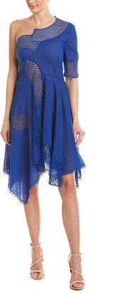 Stella McCartney Silk-Blend A-Line Dress