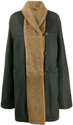 Romeo Gigli Pre-Owned 1990s relaxed fit knee-length coat