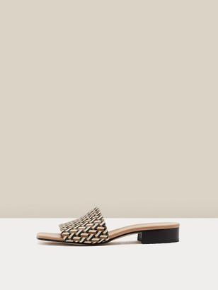 Diane von Furstenberg Levi Leather Mules