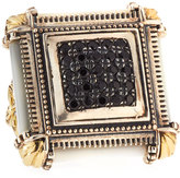 Konstantino Silver & 18k Square Mother-of-Pearl & Spinel Ring