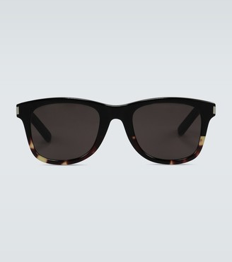 Saint Laurent Havana acetate sunglasses
