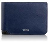 Tumi Men's 'Mason' Bifold Leather Wallet - Blue