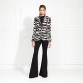 Rachel Zoe Stephani Zebra Printed Blazer