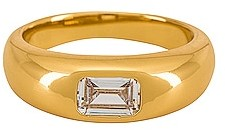 petit moments Stone Dome Ring